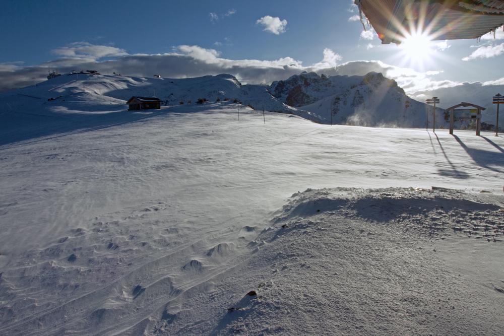 l'hiver un 14 mai à Chamrousse