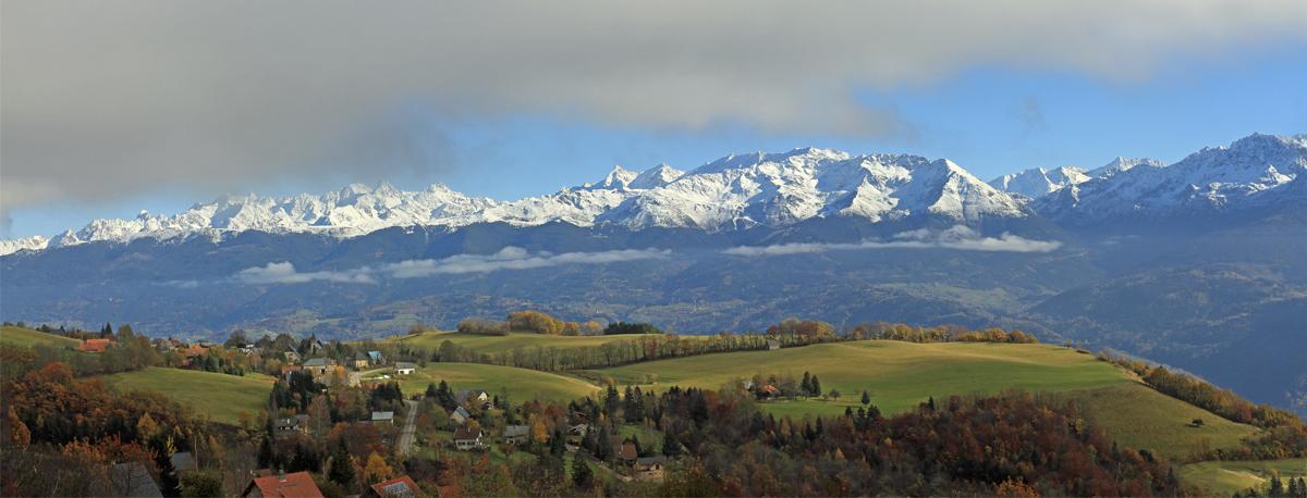contraste automne hiver...