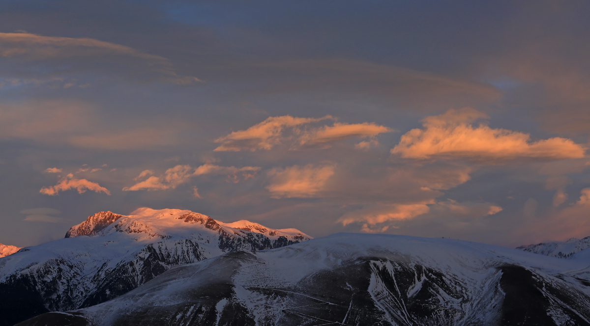 foehn sur les Alpes
