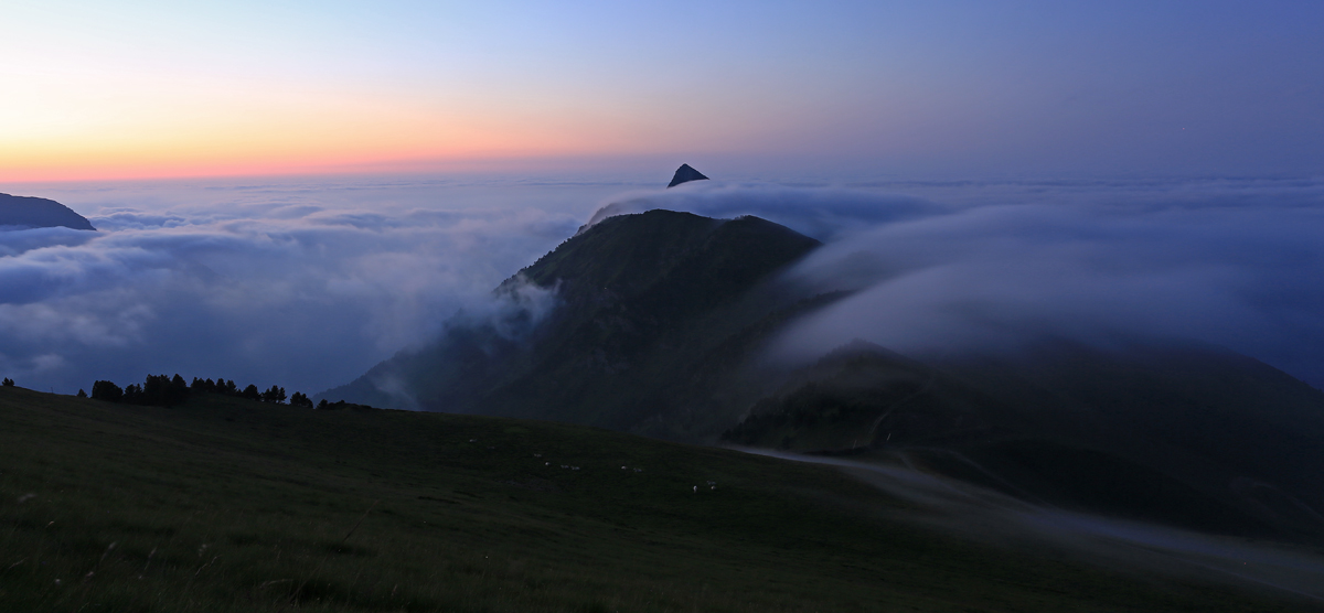 un soir dans les Pyrénées
