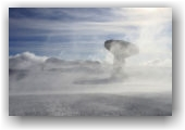 tempête de Nord au plateau de Bure