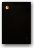Eclipse de Lune et Mars