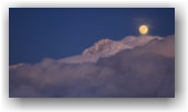 Pleine lune depuis la Peyrouse