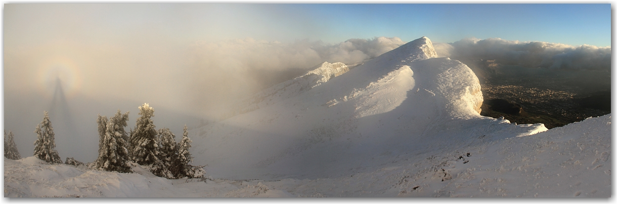 première offensive hivernale sur le Vercors